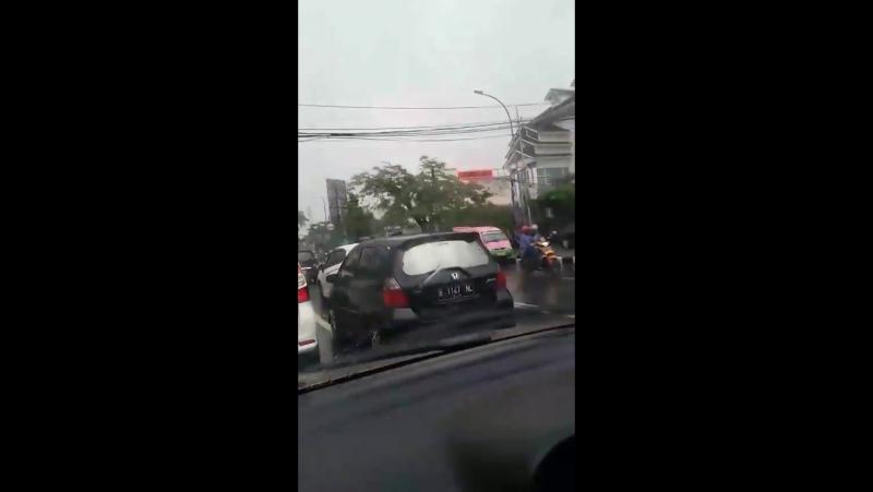 Rain weather in Bandung
