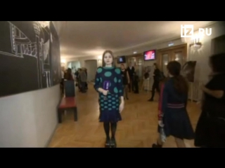 Закулисье основной сцены Московского театра имени Вл. Маяковского