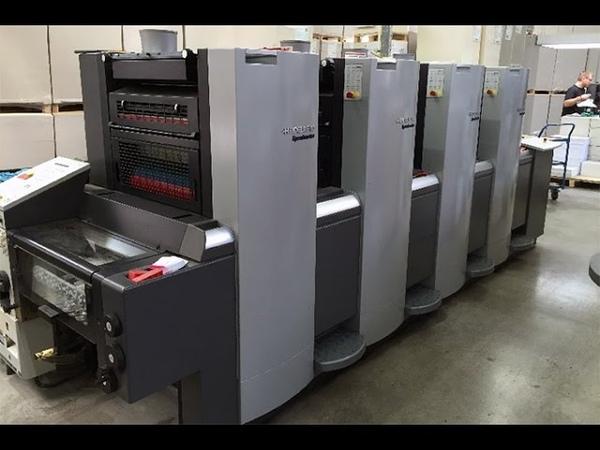 Heidelberg Speedmaster 52-4 Used Offset Printing Press