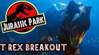 REXY BREAKS OUT! Live The T Rex Breakout Scene