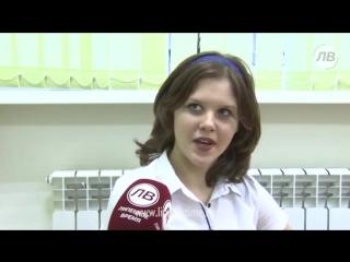 Школу в Краснинском районе капитально отремонтировали. Видеосюжет ЛВ.