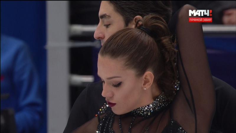 European Championships 2018. Ice Dance - SD. Alisa AGAFONOVA / Alper UCAR