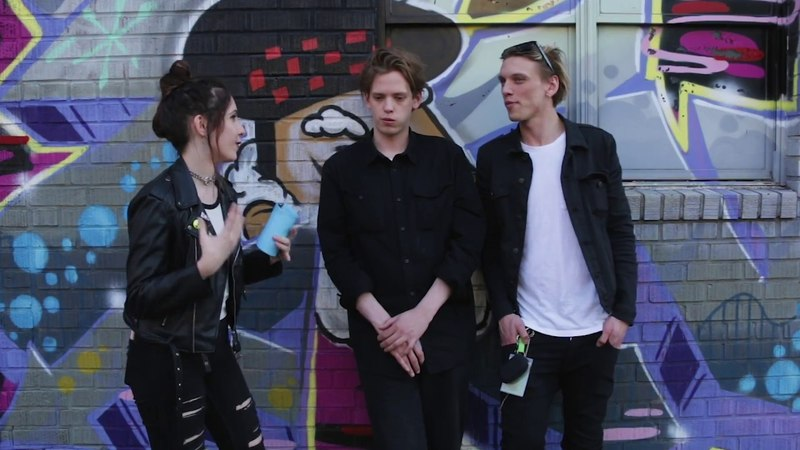 Babetalk Presents: An Exclusive Interview with Jamie Campbell Bower and Sam Bower of Counterfeit.