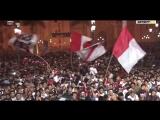 Народные гуляния в Перу после победы в товарняке