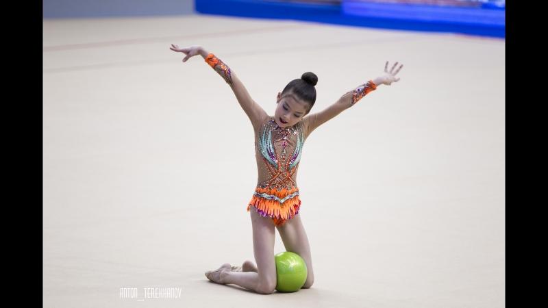 Юна Ким 2008 г.р. третье место по программе II взр. разряда