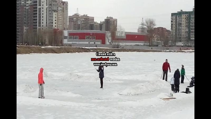 Мартовский денёк на озере Долгое 2018