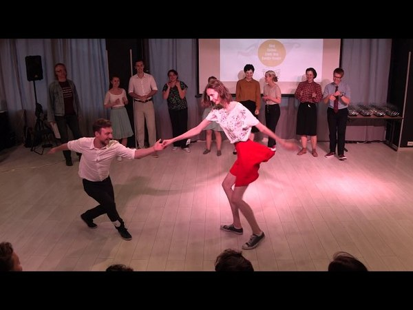 Lindy Hop Open Strictly Finals at Russian Swing Dance Championship 2018