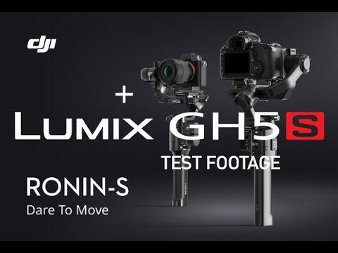DJI Ronin S Panasonic Lumix GH5S - Test Footage