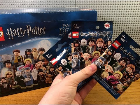 РАСПАКОВКА НОВЫХ МИНИФИГУРОК ЛЕГО ГАРРИ ПОТТЕР 71022 1 / NEW LEGO HARRY POTTER 71022 MINIFIGURES 1