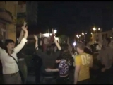 Ночные гуляния в Одинцово 22 июня 2008 года после матча Россия - Голландия