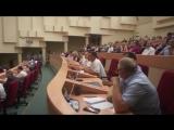 Потасовка с депутатом КПРФ Бондаренко за критику пенсионной реформы