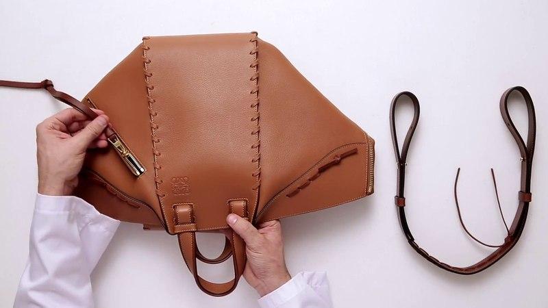 [POPBEE Exclusive] LOEWE Laced Hammock Bag