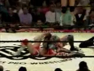 6. Toyota, Mita, Shimoda vs. Aja, Nakano, Watanabe (AJW 7.4.1993)