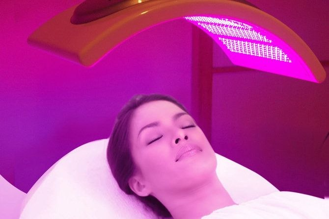 световая терапия