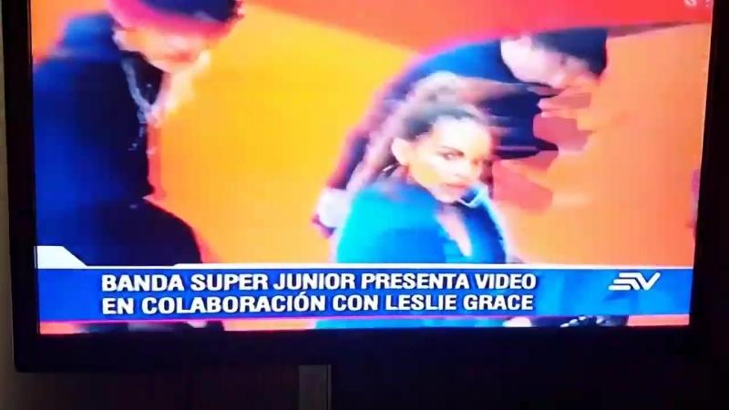 Super Junior salió en uno de los noticieros más importantes del Ecuador! SuperJunior @SJofficial