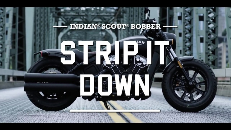 Introducing Indian® Scout® Bobber — Indian Motorcycle
