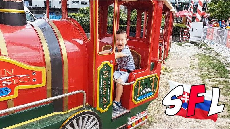 Куда пойти с детьми в Братиславе, Словакия? Лунапарк AUPARK