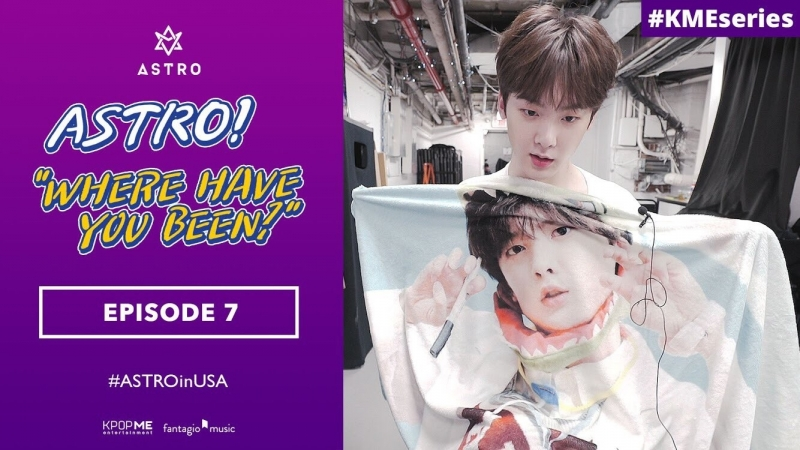 [RUS SUB] ASTRO Where Have You Been - EP7 Backstage Part 2 'Brain Survival'