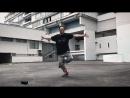 GEOMETRICAL ILLUSION animation dance robot dance