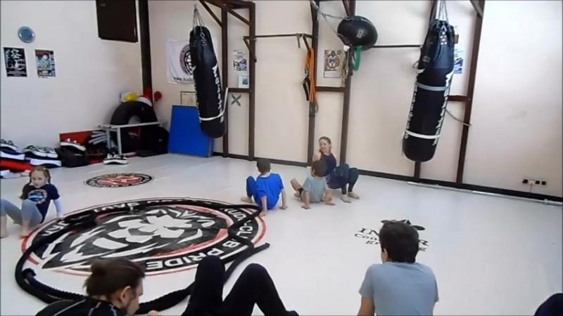 Егор, тренировка. Уверенный баланс. 18.03.2018
