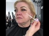 Красивый макияж для зрелой женщины ??