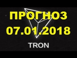 TRX⁄USD — TRON прогноз цены ⁄ график цены на 7.01.2018 ⁄ 7 января 2018 года
