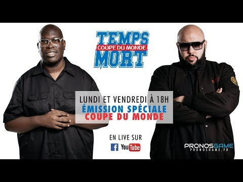 FRANCE - BELGIQUE : Pour continuer à rêver - TempsMort Coupe Du Monde 09/07/18 avec DAWALA (Wati B) {OKLM TV}