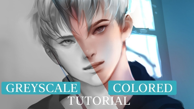 [MediBang] Greyscale Blending mode - TUTORIAL