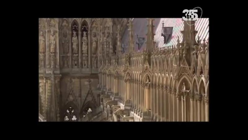 Реймсский Собор Улыбается Жизни / Notre Dame de Reims, la Cathédrale Qui Sourit à la Vie.
