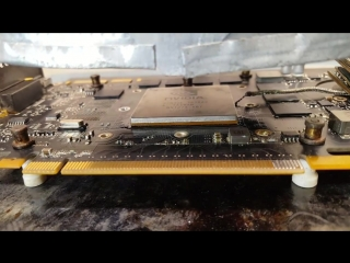 [Terabit Lab] Запаиваем GPU от Nvidia Quadro 4000 на GTX 465