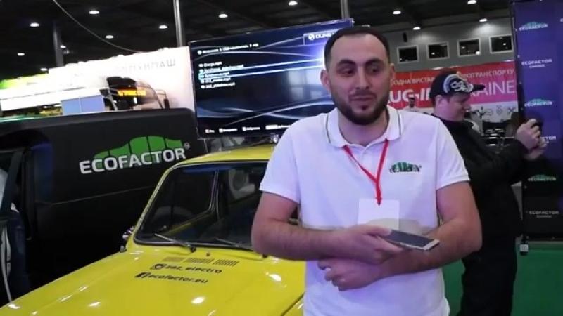 Одесский Электро Запорожец Ecofactor _ Мотор колеса Дуюнова