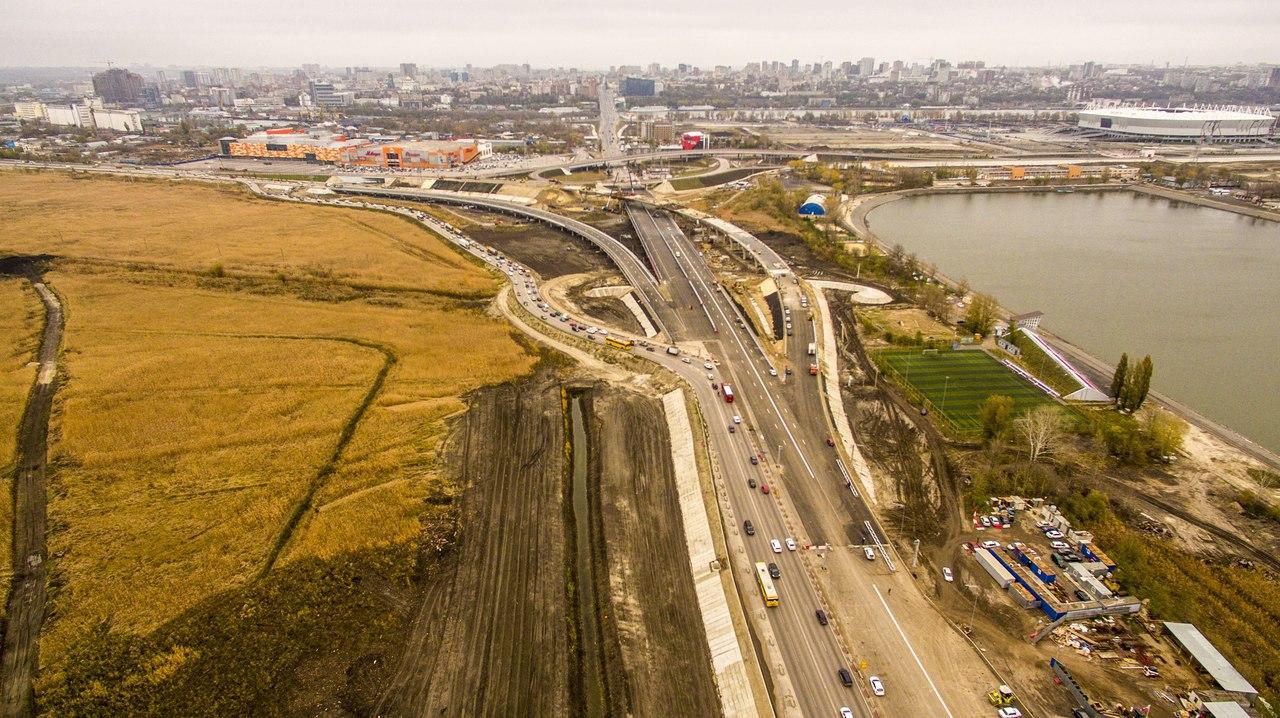 Схема движения на Южном подъезде к Ростову-на-Дону изменится