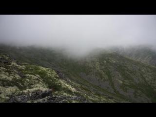 Поход в Сердце Лапландии, облака в тундре
