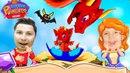 Нашли яйцо Дракона в игре МАЛЕНЬКАЯ ПРИНЦЕССА ДОМ ВОЛШЕБНИКА детский летсплей от Папы и Вари