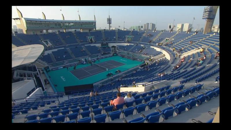 Теннис EXHIBITION Абу Даби Андерсон Карреньо Буста