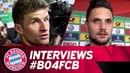 Determined to reach the final! - Müller, Lewandowski Co. following 6-2 defeat of Leverkusen