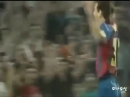 Первый гол Месси за «Барселону» 1 мая 2005 года в 34-мтуречемпионата Испании 17-летний Лео Месси в 9-м официальномматчеза «Ба