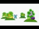 Деревяшки Картина Учим фигуры развивающий мультик для малышей Серия