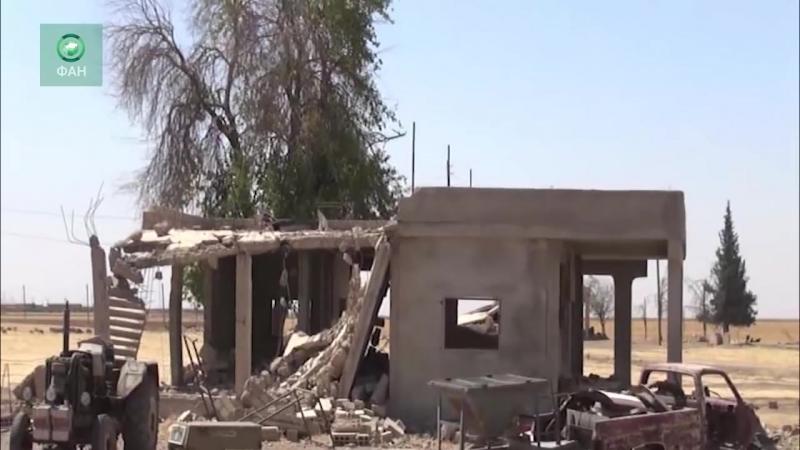 Видео с территории Сирии, оккупированной амеро-курдами (20 марта 2018) :