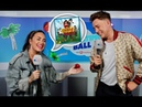 Demi Lovato sings Camp Rock and Barney backstage at CapitalSTB