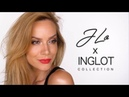 JLo x Inglot Makeup Tutorial Shonagh Scott