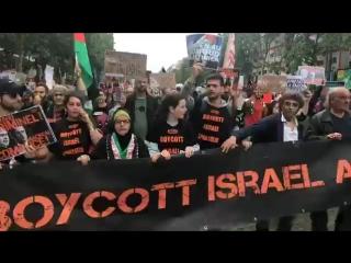 🔴 #Manifestation de soutien au peuple Palestinien et contre la venue de #Netanyahou à #Paris.