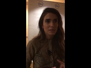 Instagram live by Nikki Reed • Jan 9, 2018