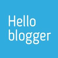 Логотип Hello Blogger