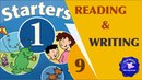 Starters Test Reading and Writing 9