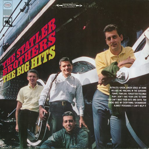 The Statler Brothers альбом Sing The Big Hits
