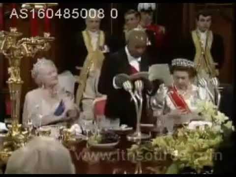 Kamuzu Banda and HRM Queen Elizabeth II