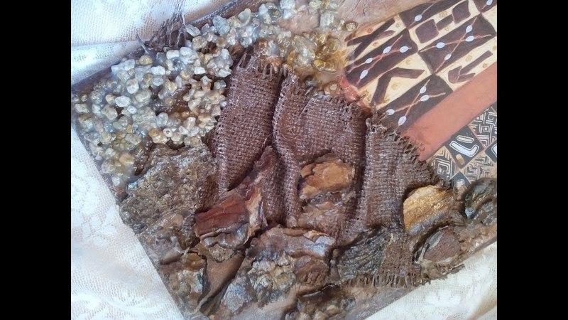 Φυσικά υλικά σε καμβά! Natural materials on canvas!