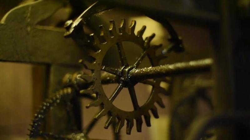Серпуховские часы на площади ( Clock on Serpukhov tower )