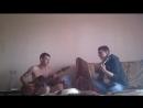 Грач и Владька на гитарах
